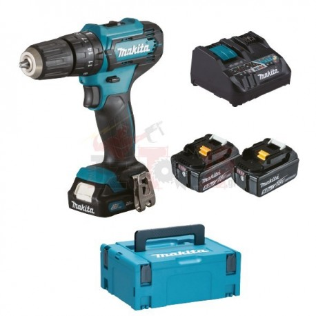 HP333DNX10 MAKITA ΔΡΑΠΑΝΟΚΑΤΣΑΒΙΔΟ ΜΠΑΤΑΡΙΑΣ + ΣΥΜΠΑΡΑΔΙΔΟΜΕΝΑ 1XBL1021B, 2XBL1850B, DC18RE,HP333, MAKPAC